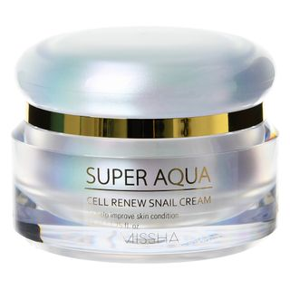 MISSHA - Super Aqua Cell Renew Snail Cream 52ml from MISSHA