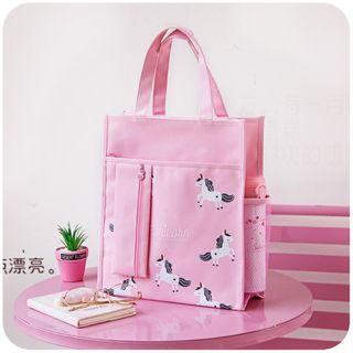 Printed Canvas Tote Bag from Momoi