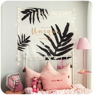 Printed Flannel Tapestry Hanging Decoration from Momoi