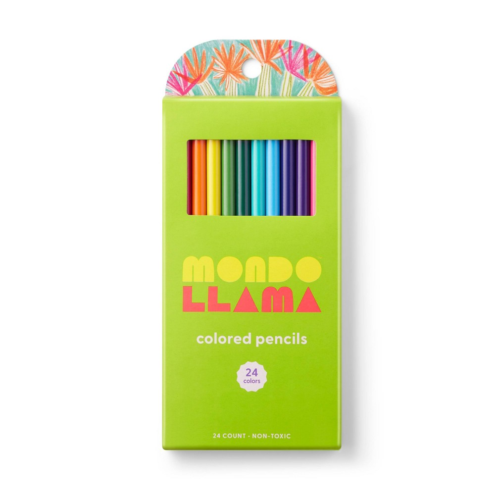 24ct Colored Pencils - Mondo Llama from Mondo Llama
