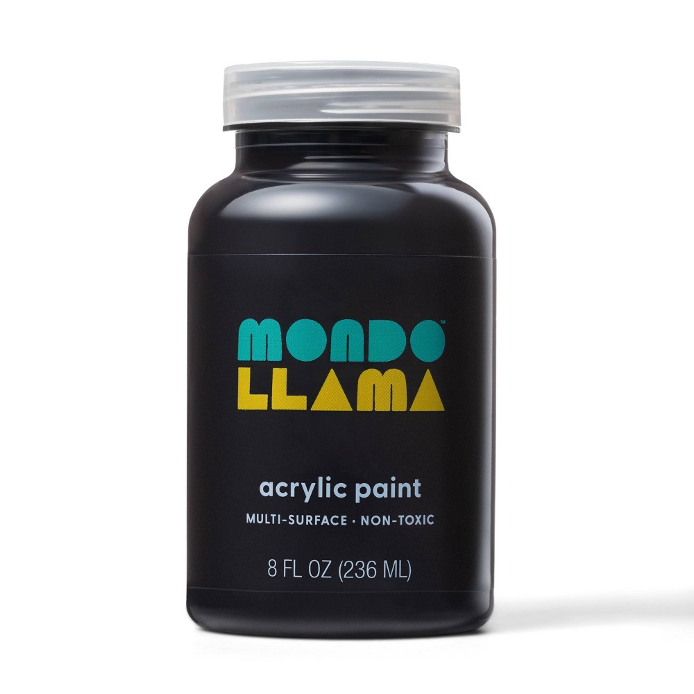 8oz Satin Acrylic Paint Fresh Pavement - Mondo Llama from Mondo Llama