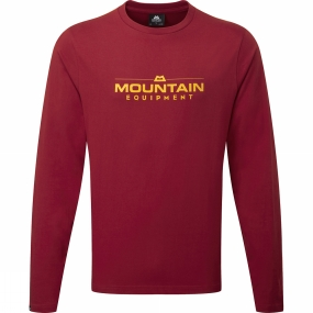 Mens Logo LS Tee from Mountain Equipment
