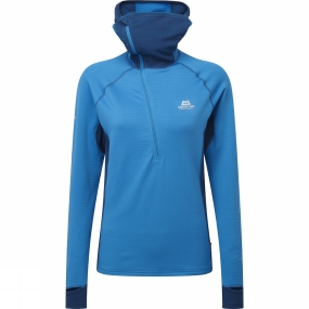 Womens Eclipse Hooded Zip Tee from Mountain Equipment