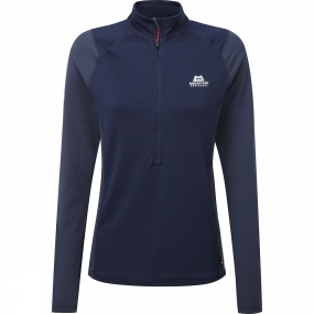 Womens Eclipse Zip T ee from Mountain Equipment