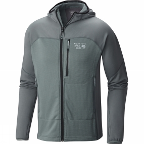 Mens Desna Grid Hooded Jacket from Mountain Hardwear