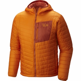 Mens Thermostatic Hooded Jacket from Mountain Hardwear