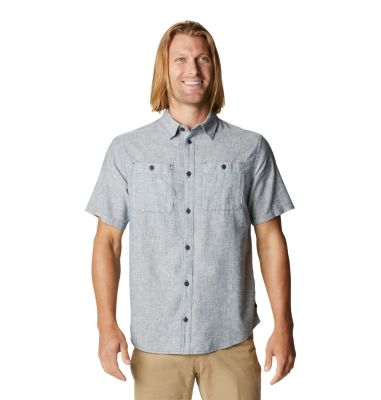 Mountain Hardwear Men's Piney Creek  Short Sleeve Woven Shirt- from Mountain Hardwear