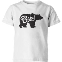 My Little Rascal Kids Baby Bear White T-Shirt - 7-8 Years - White from My Little Rascal