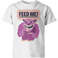 My Little Rascal Kids Feed Me! White T-Shirt - 5-6 Years - White from My Little Rascal