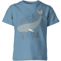 My Little Rascal Having a Whale of a Time Kids' T-Shirt - Light Blue - 7-8yrs - Blue from My Little Rascal