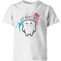 My Little Rascal Kids It Wasnt Me! White T-Shirt - 5-6 Years - White from My Little Rascal