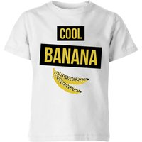 My Little Rascal Cool Banana Kids' T-Shirt - White - 3-4 Years - White from My Little Rascal