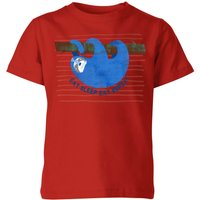 My Little Rascal Eat Sleep Eat Repeat Kids' T-Shirt - Red - 11-12 Years - Red from My Little Rascal