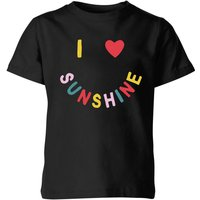 My Little Rascal I Love Sunshine Kids' T-Shirt - Black - 5-6 Years - Black from My Little Rascal