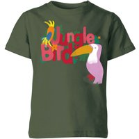 My Little Rascal Jungle Bird Kids' T-Shirt - Forest Green - 11-12 Years - Forest Green from My Little Rascal