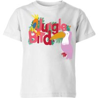My Little Rascal Jungle Bird Kids' T-Shirt - White - 5-6 Years - White from My Little Rascal