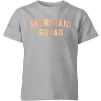 My Little Rascal Mermaid Squad Kids' T-Shirt - Grey - 7-8 Years - Grey from My Little Rascal