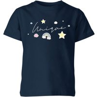 My Little Rascal UNIQUE Kids' T-Shirt - Navy - 3-4 Years - Navy from My Little Rascal