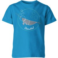 My Little Rascal Kids Starwhal Blue T-Shirt - 3-4 Years - Blue from My Little Rascal