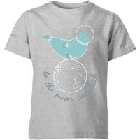 My Little Rascal Kids to the Moon and Back Grey T-Shirt - 7-8 Years - Grey from My Little Rascal