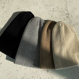 Rib-Knit Beanie from NANING9