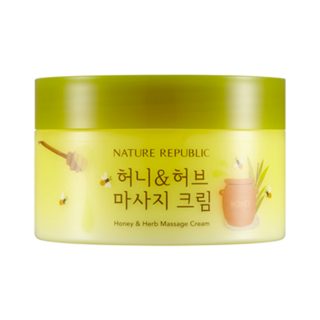 NATURE REPUBLIC - Honey And Herb Massage Cream 215ml from NATURE REPUBLIC