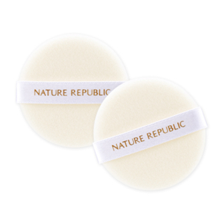 NATURE REPUBLIC - Natures Deco Soft Touch Flocked Puff (2pcs) from NATURE REPUBLIC