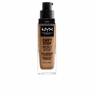 CAN´T STOP WON´T STOP full coverage foundation #caramel from NYX Professional Makeup