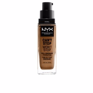 CAN´T STOP WON´T STOP full coverage foundation #nutmeg from NYX Professional Makeup