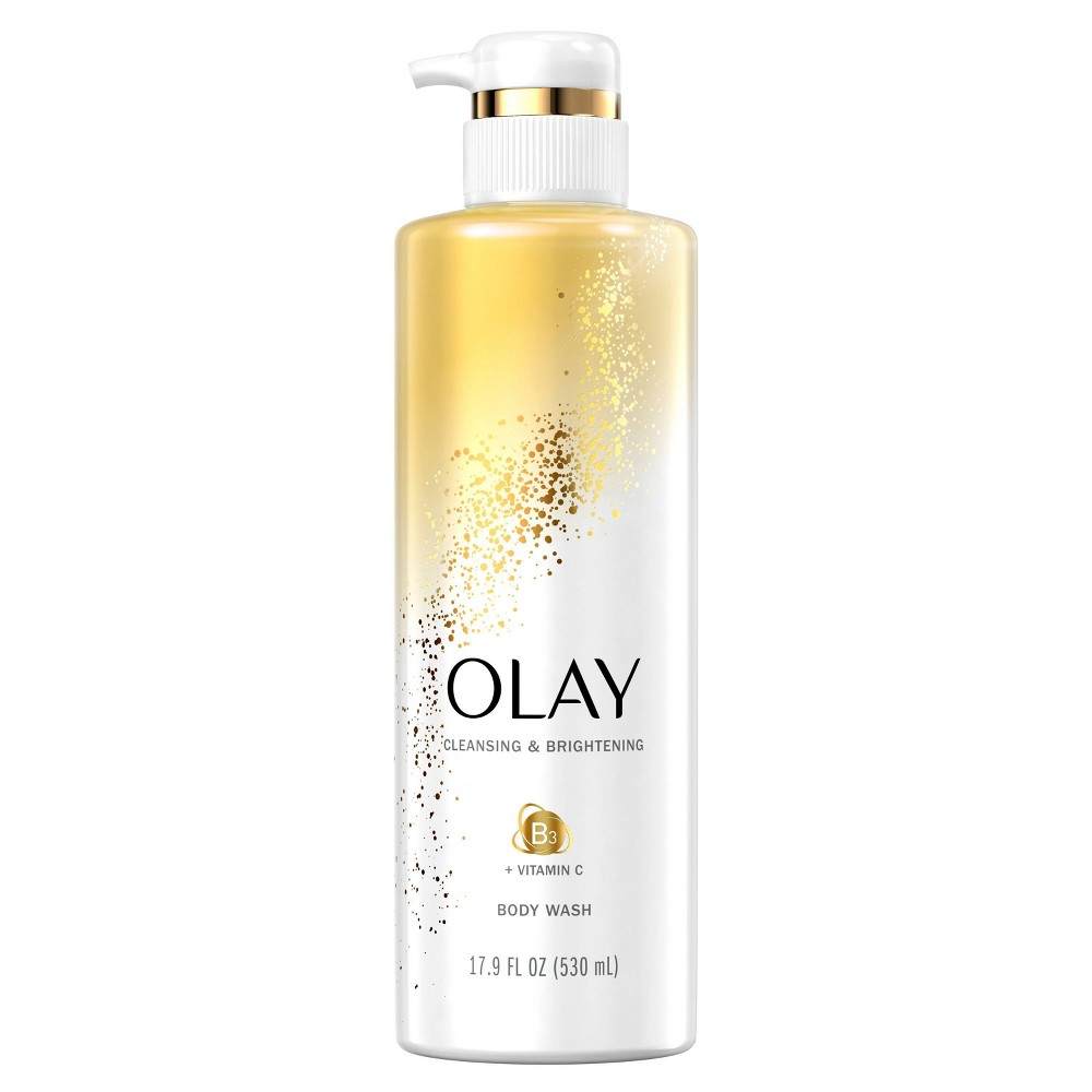 Olay Cleansing & Nourishing Body Wash with Vitamin B3 and Vitamin C - 17.9 fl oz from Olay