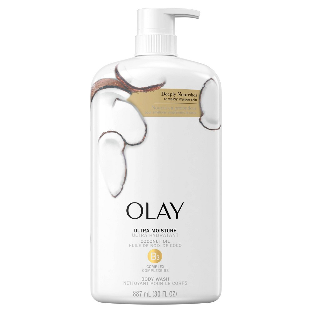Olay Ultra Moisture Body Wash with Coconut Oil - 30 fl oz from Olay