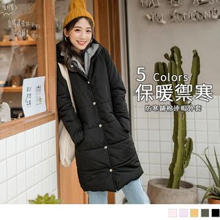 Double Layer Hooded Padded Coat from OrangeBear