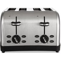 Extra Wide Slot Toaster, 4-Slice, 12 3/4 x 13 x 8 1/2, Stainless Steel from Oster