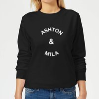 Ashton & Mila Women's Sweatshirt - Black - L - Black from Own Brand