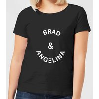 Brad & Angelina Women's T-Shirt - Black - M - Black from Own Brand
