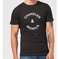 Chandler & Monica Men's T-Shirt - Black - S - Black from Own Brand