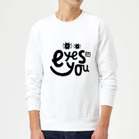 Eyes On You Sweatshirt - White - XXL - White from Own Brand