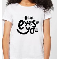 Eyes On You Women's T-Shirt - White - M - White from Own Brand