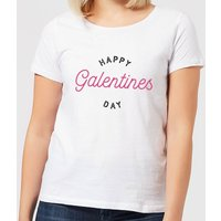 Happy Galentine's Day Women's T-Shirt - White - M - White from Own Brand