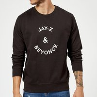 Jay-Z & Beyonce Sweatshirt - Black - 5XL - Black from Own Brand
