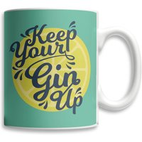 Keep Your Gin Up Mug from Own Brand