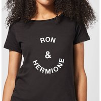 Ron & Hermione Women's T-Shirt - Black - S - Black from Own Brand