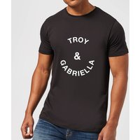 Troy & Gabriella Men's T-Shirt - Black - XL - Black from Own Brand