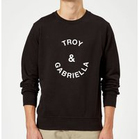 Troy & Gabriella Sweatshirt - Black - XXL - Black from Own Brand