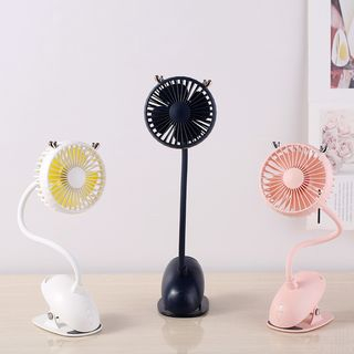 Rechargeable Clip-on Portable Fan from PIPPA