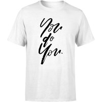 You Do You Men's T-Shirt - White - M - White from PLANETA444