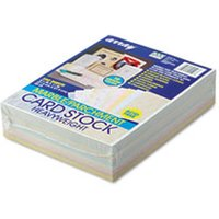 Array Card Stock, 65 lb., Letter, Assorted Colors, 250 Sheets/Pack from Pacon