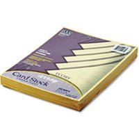 Array Card Stock, 65 lb., Letter, Ivory, 100 Sheets/Pack from Pacon