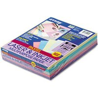 Array Colored Bond Paper, 20lb, 8-1/2 x 11, Assorted Pastels, 500 Sheets/Ream from Pacon