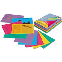 Array Colored Bond Paper, 24lb, 8-1/2 x 11, Assorted Designer Colors, 500/Ream from Pacon